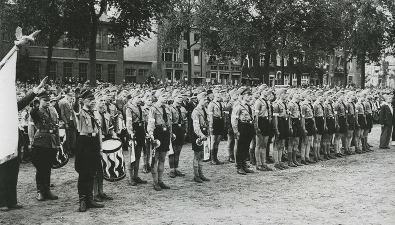 Юноши из Гитлерюгенда.