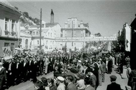 Каунас. Август 1940 г.