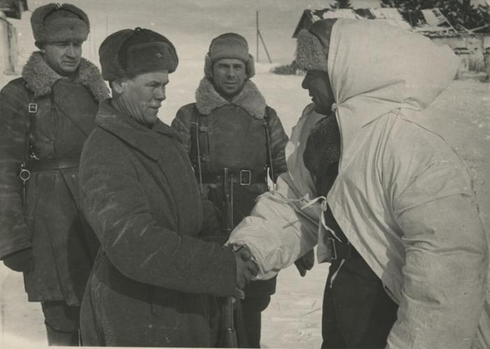 Лелюшенко. Бои под Москвой. Декабрь 1941 г.