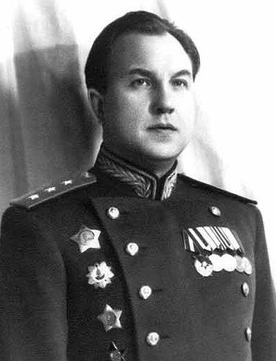 Министр МГБ СССР Абакумов. 1950 г.