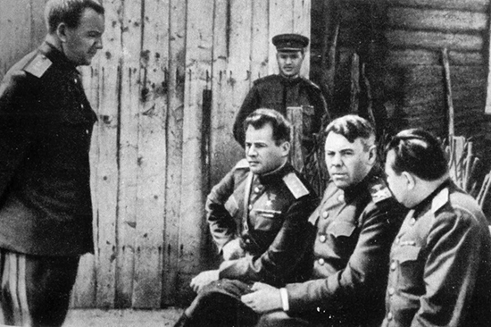 Маршал Василевский. 1943 г.