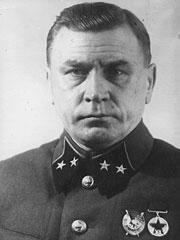 Генерал-майор Галанин И.В. 1940 г.