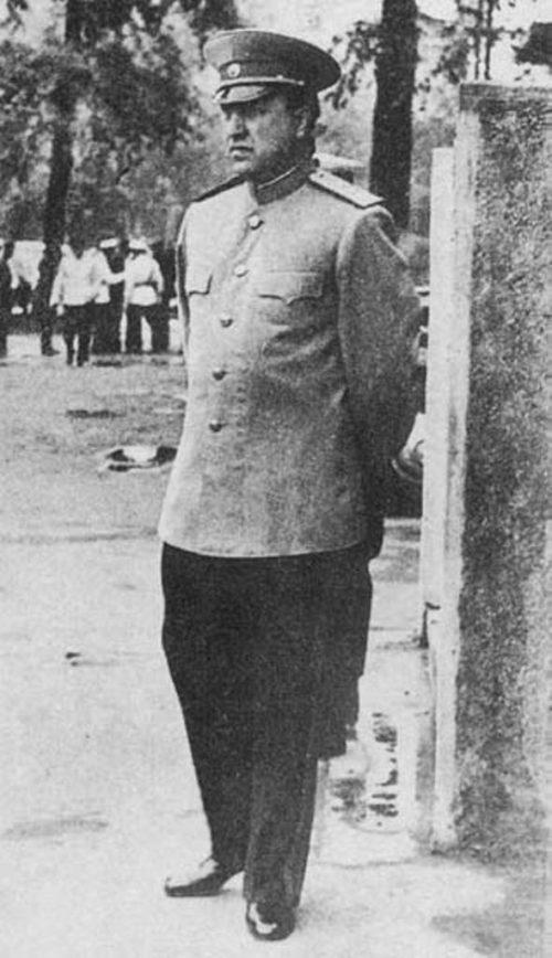 Абакумов незадолго до ареста. 1951 г.