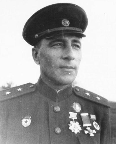 Генерал-лейтенант Катуков. 1943 г.