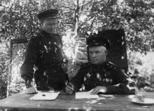 Лелюшенко на фронте. 1943 г.