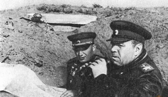 Василевский на передовой. 1944 г.