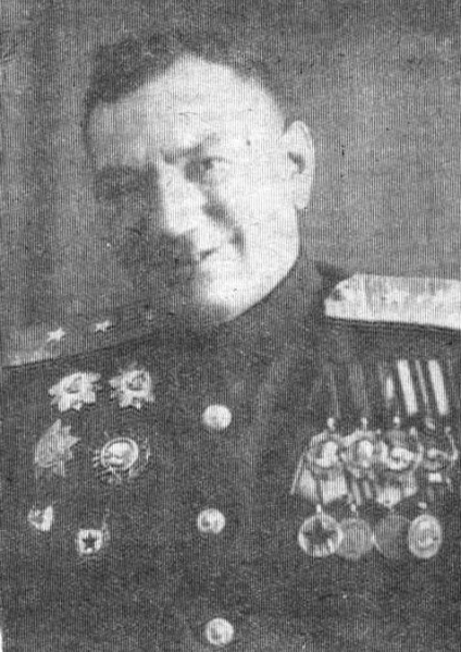 Генерал-лейтенант Галанин. 1943 г.