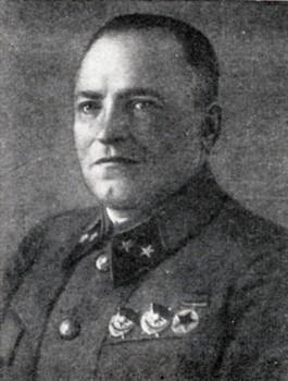 Генерал-майор Галицкий. 1940 г.