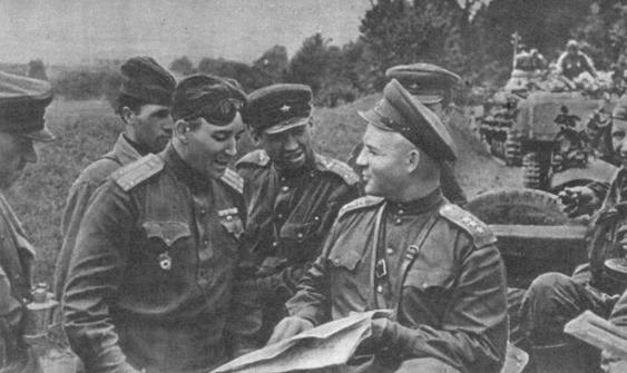 Генерал-полковник Лелюшенко. 1944 г.