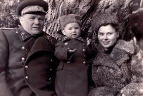 Еременко с семьей. 1948 г.