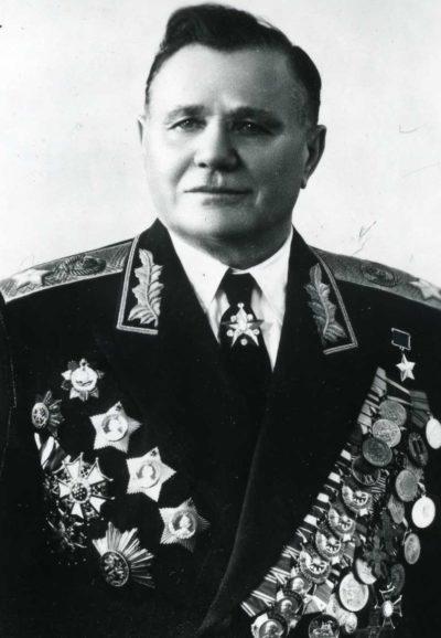 Маршал Еременко. 1955 г.