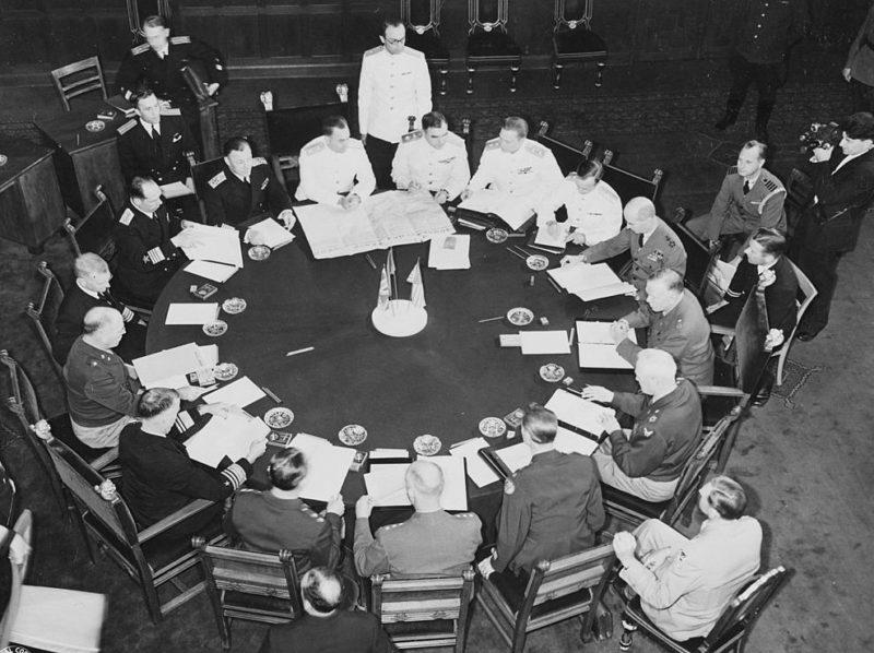 Потсдамская конференция. Июнь 1945 г.