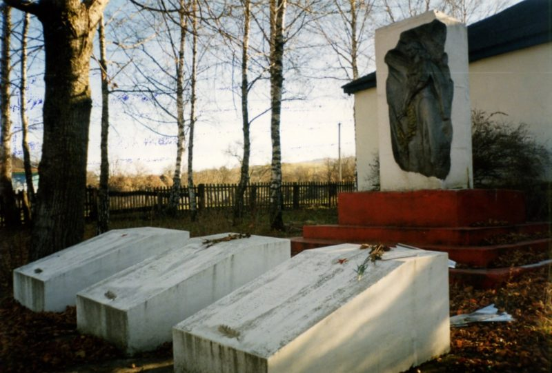 х. Тегин Лабинского р-на. Памятный знак землякам, погибшим в годы Великой Отечественной войны.