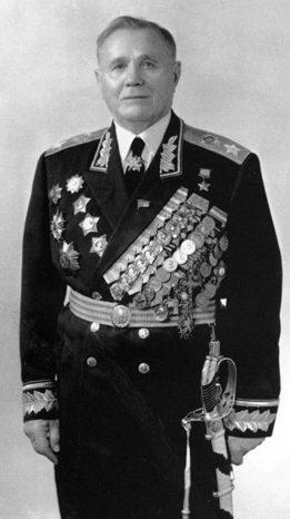 Маршал Еременко. 1960 г.