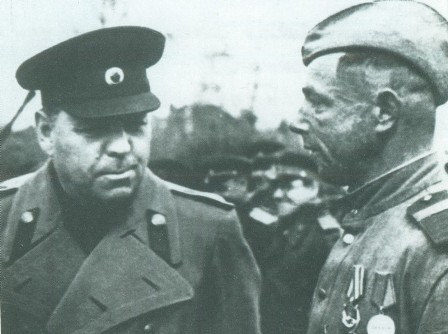 Василевский на фронте. 1944 г.