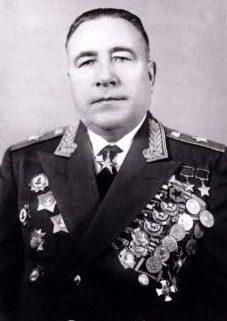 Катуков - маршал бронетанковых войск. 1961 г.