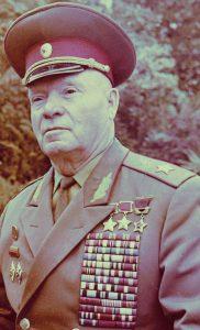 Генерал армии Лелюшенко. 1987 г.