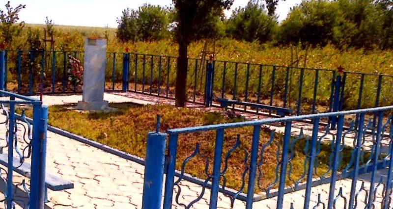 х. Свободный Северского р-на. Братская могила советских воинов.
