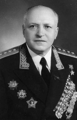 Генерал армии Галицкий К.Н. 1955 г.