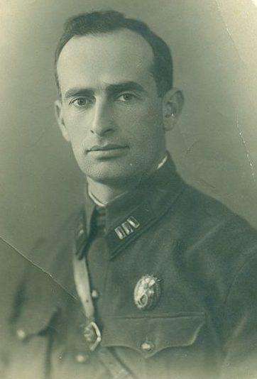 Полковник Леселидзе. 1936 г.