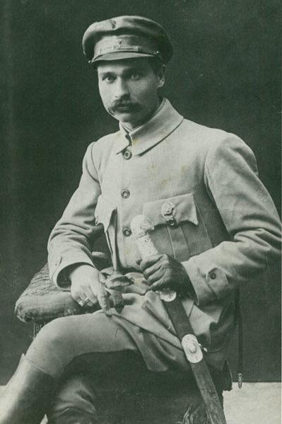 Командир 2-го Богунского полка Кирпонос. 1919 г.