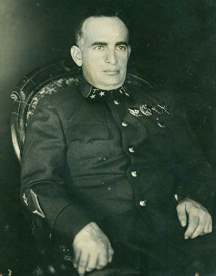 Генерал-майор Леселидзе. 1942 г.