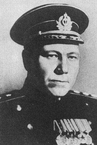 Генерал-полковник авиации С. Ф. Жаворонков. 1943 г.