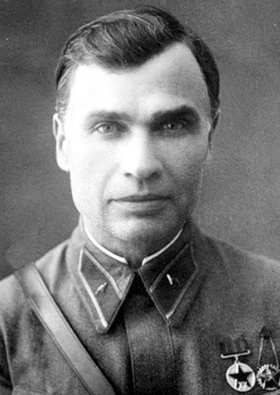 Комбриг Кирпонос. 1938 г.