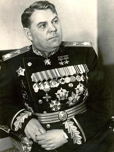 Маршал Василевский. 1945 г.