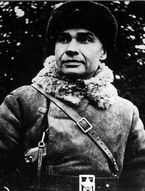 Кирпонос на Зимней войне. 1940 г.