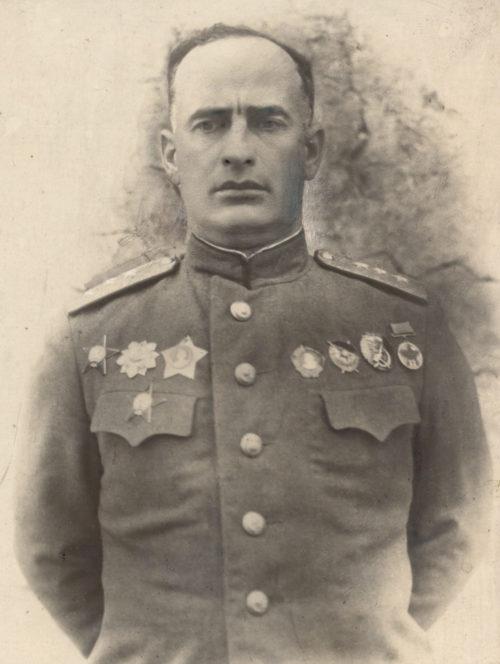 Генерал-полковник Леселидзе. 1943 г.