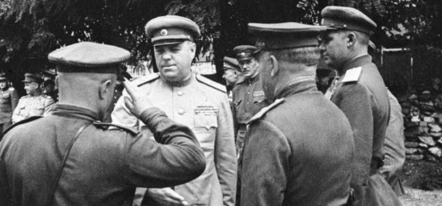 Василевский на Дальневосточном фронте. Сентябрь 1945 г.