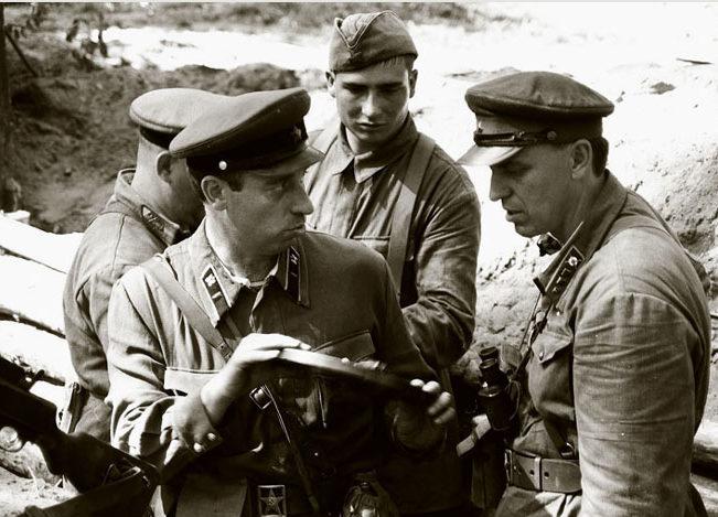 Кирпонос на фронте. 1941 г.