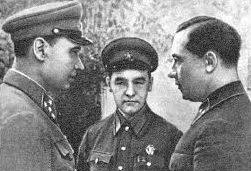 Кирпонос, Бурмистренко, Тупиков. 1941 г.
