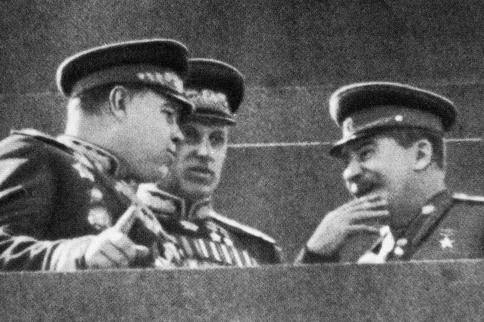 Парад Победы на Красной площади. 24 июня 1945 г.
