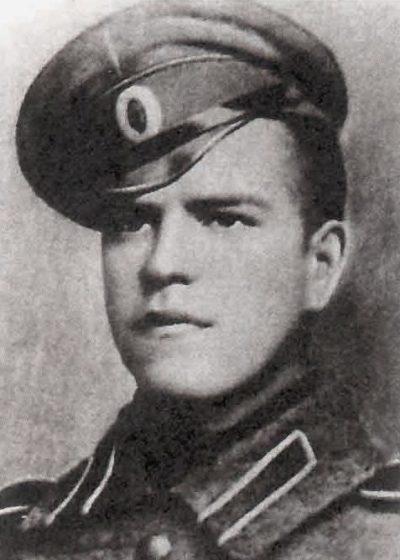 Унтер-офицер Жуков. 1916 г.