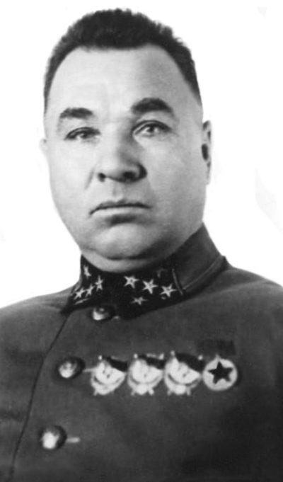 Генерал армии Апанасенко. 1941 г.