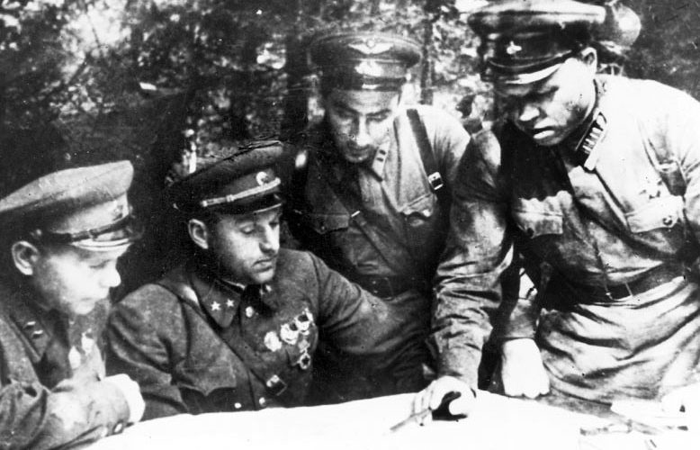 Лукин на фронте. 1941 г.
