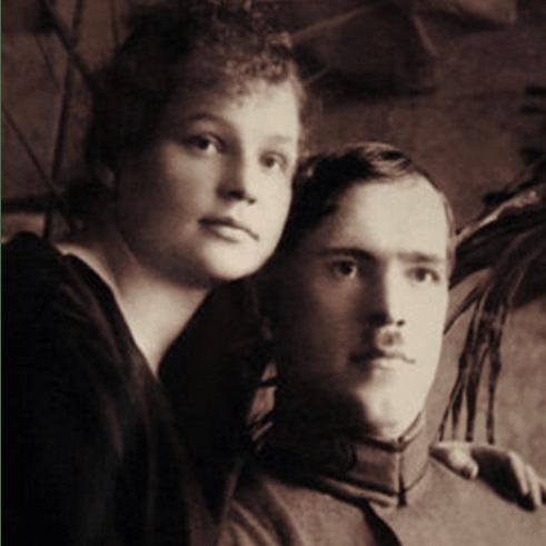 Георгий Жуков и Александра Зуйкова. 1920 г.