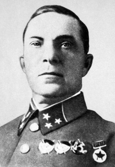 Генерал-лейтенант Лукин. 1941 г.