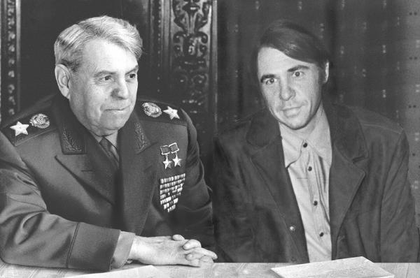 Василевский с сыном Игорем. 1952 г.
