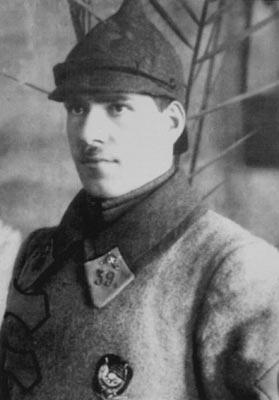 Командир 39-го Бузулукского кавалерийского полка Г. К. Жуков. 1923 г.