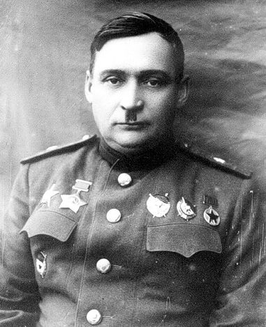 Генерал-майор Кирюхин. 1943 г.