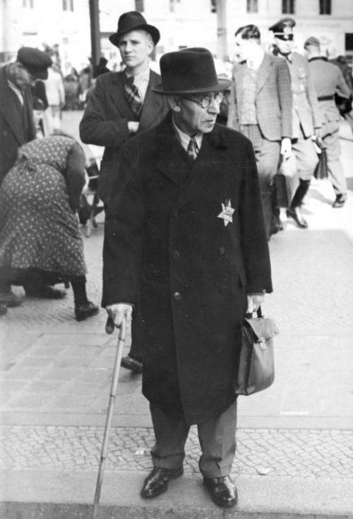Евреи в Берлине. Сентябрь 1941 г.