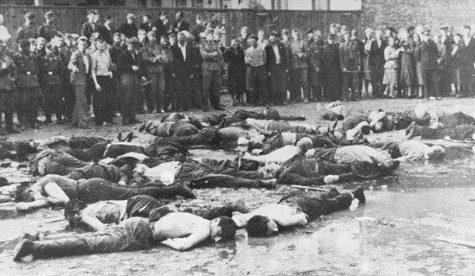 Жертвы-евреи бойни в Каунасе. 25-27 июня 1941 г.