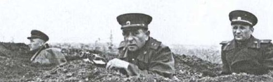 Козлов на фронте. 1942 г.