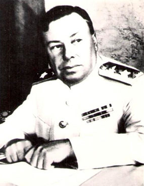Астахов в должности начальника Главного управления ГВФ. 1946 г.