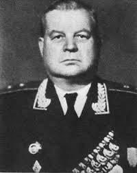 Козлов в звании генерал-майора. 1954 г.