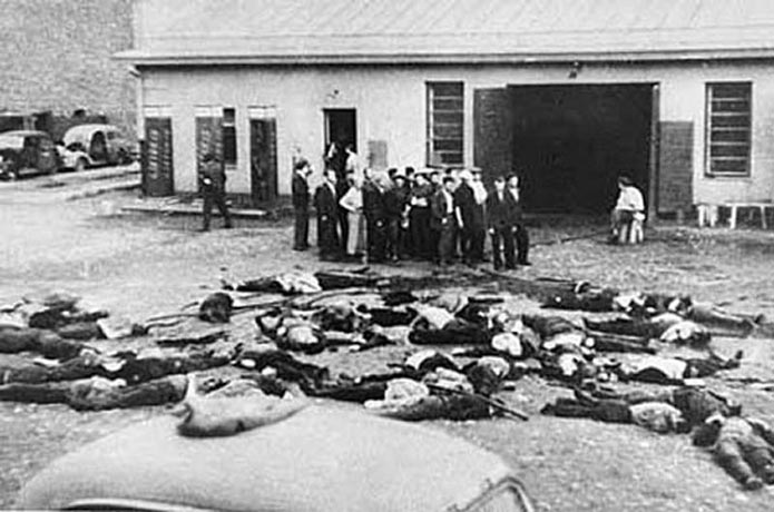 Жертвы-евреи бойни в гараже «Летукис». 25-27 июня 1941 г.