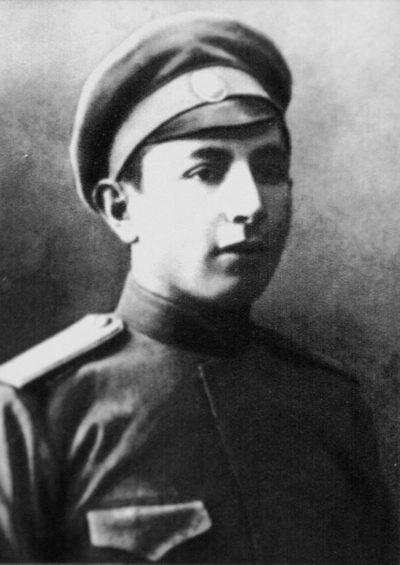 Иван Баграмян. 1916 г.